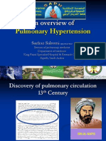 Pulmonary Hypertension- An overview