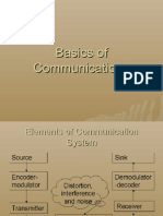 Basics of Communications