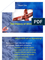 The History of HIV Aids