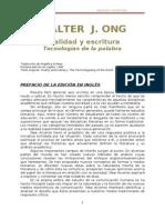 98063708 Ong Walter J Oralidad y Escritura