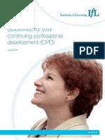 J11734 IfL CPD Guidelines 08.09 Web v3