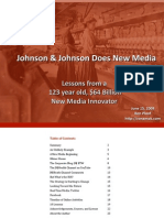 Johnson &Johnson Case Study - Social Media