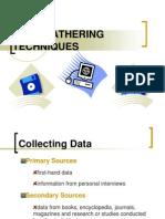 03 Data Gathering Techniques