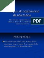 4.- Principios de organización de una cocina