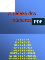A Beleza Dos Numero s
