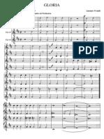 GLORIA Coro a 4 Voci Miste Ed Orchestra VIVALDI