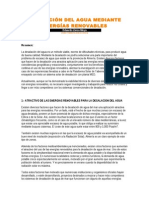 DESALACIÓN DEL AGUA MEDIANTE ENERGÍAS RENOVABLES (1)