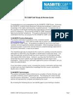 NASBITE CGBP Self Study - Review Guide
