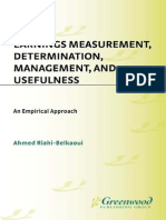 [Ahmed Riahi-Belkaoui] Earnings Measurement, Deter