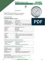 Av-ss Pressure Gauge (Compact Case)