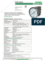 Ba-differential Pressure Gauge