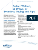 How to Select Welded or Seamless Tubing & Pipe, RathGibson, 2010