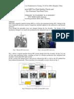 Automated MPI Test Fluid Quality Checks And