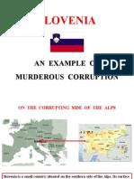 Corruption in Slovenia