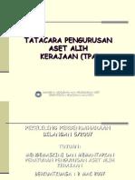 Tatacara Pengurusan Aset (PPoint)
