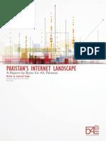 Pakistan's Internet Landscape
