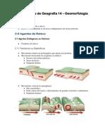 Apostila de Geografia 14 e28093 Geomorfologia
