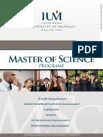 Ium Brochure Masters