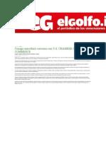 19-12-2013 EL Golfo.info - Conago suscribirá convenio con U.S. CHAMBER OF COMMERCE