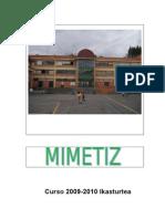 Mimetiz Eskolako gida 2009-10