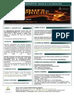 Bulletin d'annonces N°92 Semaine du 11 au 18 janvier 2014