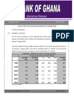 Inflation Outlook and Monetary Aggregates Report, October 2003