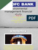 Environmental Management Financial Study