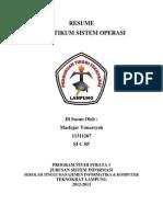 Perintah Dasar terminal sistem Operasi Linux
