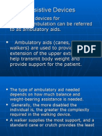 Assistive Devices - Walker