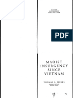 Thomas a. Marks Maoist Insurgency Since Vietnam 1996