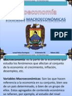Variable Macroeconomicas