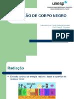 Seminário Radiacao de Corpo Negro - Turma B, V Fisica Medica -Unesp (2009)