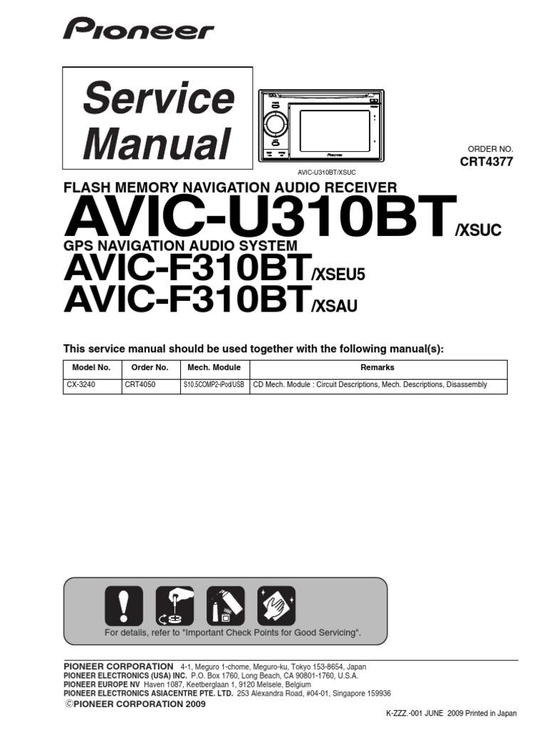 Pioneer Avic U310bt Wiring Diagram Electrical Diagrams X9310bt Radio Laser Soldering X940bt
