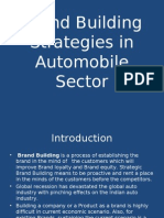 Brand Building in Automobile Sector Final PPT