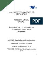 Report e Algebra