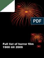 Topp Horror Film List