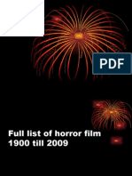 Topp Horror Film List