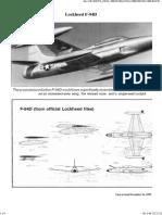 Lockheed F 94D