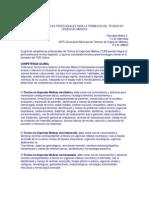 GUIA DE COMPETENCIAS PROFESIONALES PARA LA FORMACION DEL TECNICO EN URGENCIAS MÉDICAS