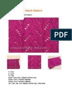 Braided Lace Stitch Pattern