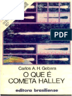 O Que é Cometa Halley - Carlos A. H. Gebara