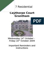 Caythorpe Court Booklet