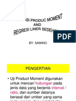 Korelasi & Regresi