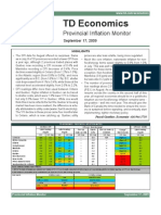 Provincial Inflation Monitor