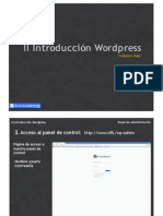 II Wordpress