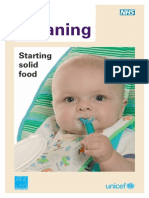 Weaning Leaflet