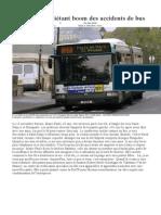 RATP.l'inquiétant boom des accidents de bus 10 janvier 2013doc