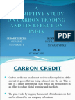 A Study on Carbon Credit (PPT)