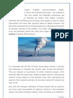 A study Carbon Credit