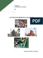 sporturi adaptate